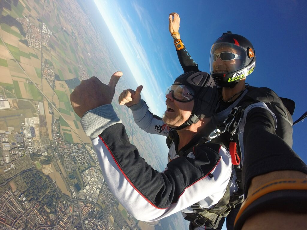 The Feeling Of Tandem Skydiving