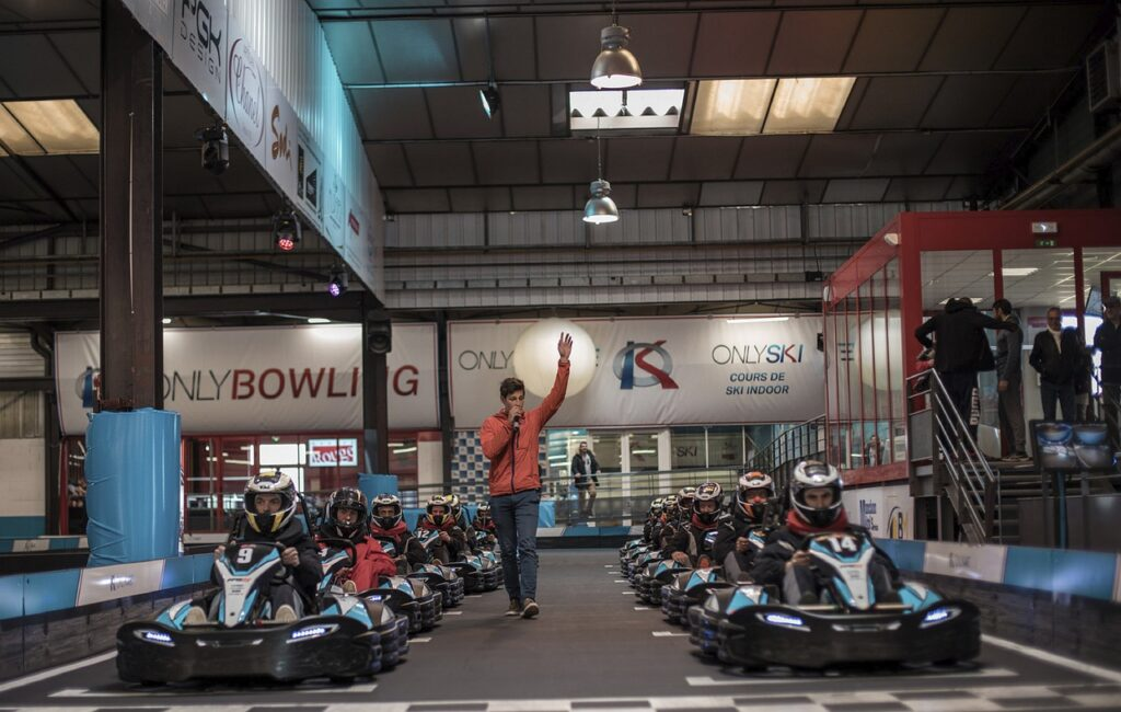 Go Karting – Bring out your inner Lewis Hamilton